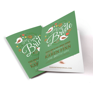 folded card printing bargainbasementprinting com